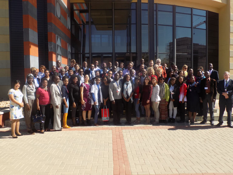Botswana Symposium Group Photo